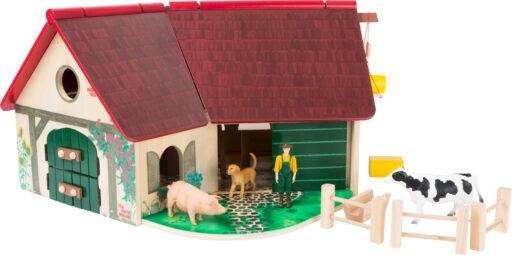 Small Foot Dřevěná farma se zvířátky