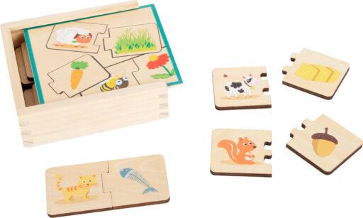 Small Foot Vzdělávací hra krmení zvířat