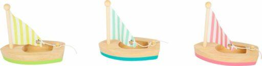 Small Foot Vodní hračka plachetnice 3 ks - poškozený obal