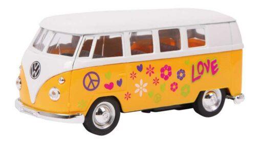 Small Foot Kovový model auta Model automobilu VW62 Classical autobus