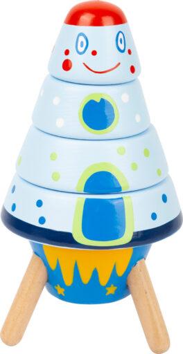 Small Foot Dřevěná raketa Space