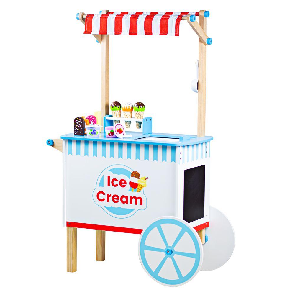 Bigjigs Toys Zmrzlinový vozík