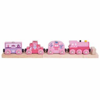 Bigjigs Rail Vlak pro princezny + 3 koleje
