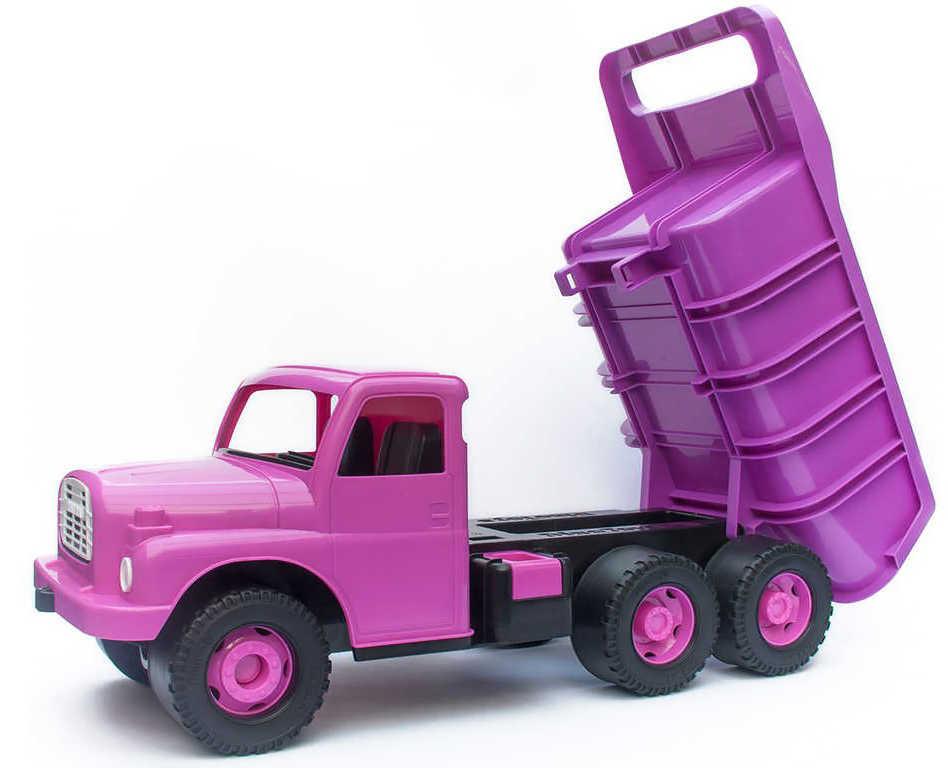 DINO Tatra T148 klasické nákladní auto na písek 30cm růžová sklápěcí korba