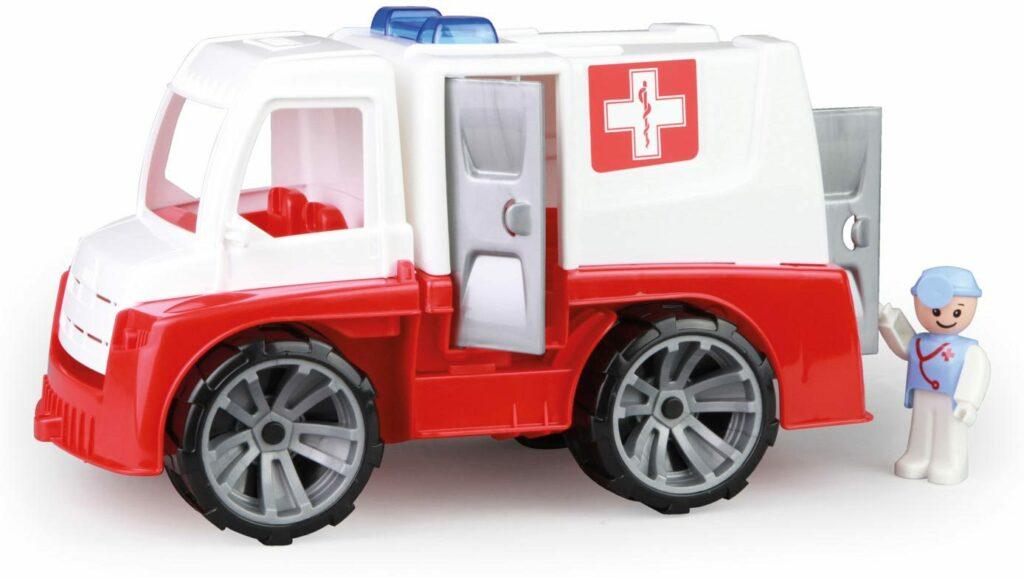 LENA Truxx auto funkční Ambulance 29cm set s figurkou volně plast